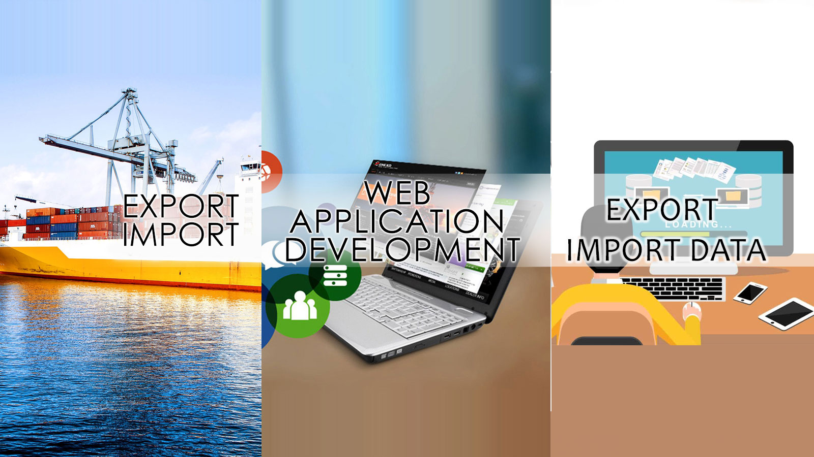 Web Application Development Slider